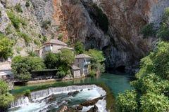 Blagaj Tekke And Source Of The Buna River, Bosnia And Herzegovina royalty free stock image