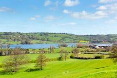 Blagdon Lake Somerset Somerset England UK south of Bristol Stock Image