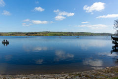Blagdon Lake Somerset Somerset England UK south of Bristol Stock Photo