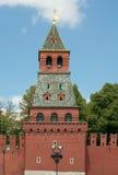 Blagoveschenskayatoren van Moskou het Kremlin, Rusland Stock Fotografie