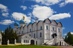 Blagoveshchensk cathedral in the Kazan Kremlin Royalty Free Stock Image