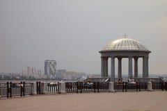 Blagoveshchensk. embankment Royalty Free Stock Photo