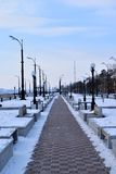 Blagoveshchenskstad stock afbeeldingen