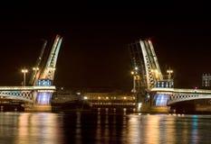 The Blagoveshchensky (Annunciation) Bridge Royalty Free Stock Photography