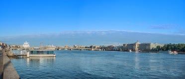 The Blagoveshchensky Annunciation Bridge in St. Petersburg, Ru Royalty Free Stock Photos