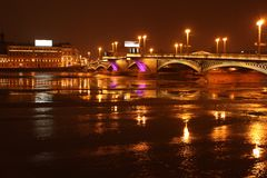 Blagoveshchensky-Brücke (St Petersburg) Lizenzfreie Stockfotografie