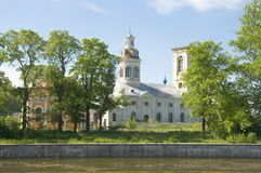 Blagoveshchensky Cathedral. Shlisselburg Stock Photos