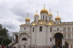 Blagoveshchensky sobor in moscow kremlin Royalty Free Stock Photography