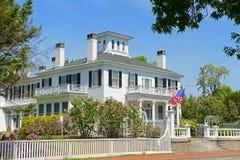 Blaine House Augusta, Maine, USA Fotografering för Bildbyråer