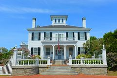 Blaine House Augusta, Maine, USA Royaltyfria Bilder