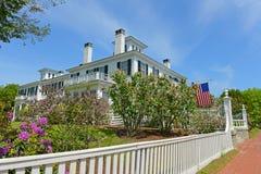 Blaine House Augusta, Maine, USA arkivfoto