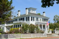 Blaine House, Augusta, Maine, USA. Blaine House is the official residence of the Governor of Maine and his or her family. The current residents are Governor Paul Royalty Free Stock Image