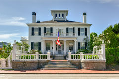 Blaine House - Maine. The Blaine House, also known as James G. Blaine House, is the official residence of the Governor of Maine and his or her family royalty free stock photos