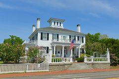 Blaine House, Augusta, Maine, USA. Blaine House is the official residence of the Governor of Maine and his or her family. The current residents are Governor Paul royalty free stock photos