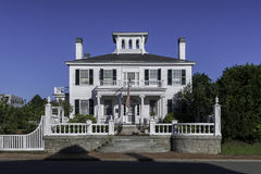 Blaine House. Or the official residency of the Governor, at 192 State Street in Augusta, Maine on July 31, 2015 Stock Photos
