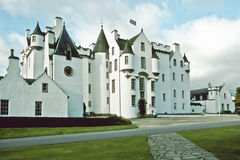 Blair Castle. Castle Blair is the domicile of the Duke of Atholl and one of the most beautiful castles of Scotland Royalty Free Stock Images