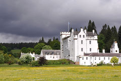 Blair Castle, Ecosse Image libre de droits