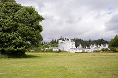 Blair Castle Skottland Royaltyfri Fotografi