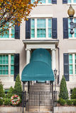 Blair House Building Second White husWashington DC royaltyfria bilder