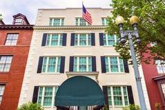Blair House Building Second White husWashington DC arkivbilder