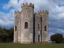 Blaise Castle. In Bristol,England. sunny ,early spring day stock photography