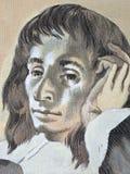 Blaise Pascal-portret Royalty-vrije Stock Foto's