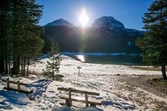 Blak lake Stock Images