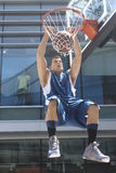 Blake Griffin. Dunks a basketball Royalty Free Stock Photography