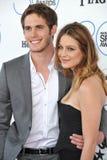 Blake Jenner & Melissa Benoist royalty-vrije stock foto