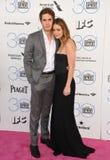 Blake Jenner & Melissa Benoist royalty-vrije stock foto's