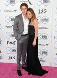 Blake Jenner & Melissa Benoist stock fotografie