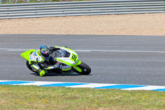 Blake Leigh-Smith pilot of Moto2 of the CEV Stock Images