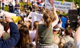 Blake Lewis concert crowd Royalty Free Stock Image