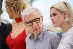 Blake Lively, Kristen Stewart, Woody Allen royalty-vrije stock fotografie