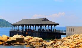 Blake-Pier bei Stanley, Hong Kong Lizenzfreie Stockbilder