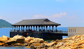 Blake pier at stanley, hong kong Royalty Free Stock Images