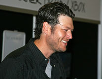 Blake Shelton - festival 2009 de CMA photos stock