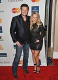 Blake Shelton, Miranda Lambert royalty-vrije stock fotografie