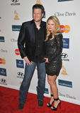 Blake Shelton,  Miranda Lambert Royalty Free Stock Images