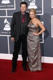 Blake Shelton, Miranda Lambert imagens de stock