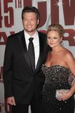 Blake Shelton,Miranda Lambert Royalty Free Stock Photos