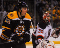 Blake Wheeler, forward, Boston Bruins Stock Photo