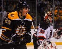 Blake Wheeler som är framåt, Boston Bruins Arkivfoto