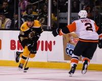 Blake Wheeler, voorwaartse Boston Bruins stock afbeelding