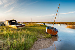 Blakeney en Norfolk Photo libre de droits