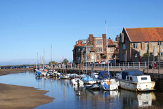 Blakeney Quay Royalty Free Stock Photography