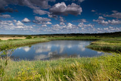 Blakeney Landscape  Royalty Free Stock Image