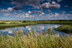 Blakeney Landscape #1 Stock Images