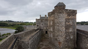 Blakness slott Skottland Royaltyfria Bilder