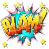 Blam Stock Foto's